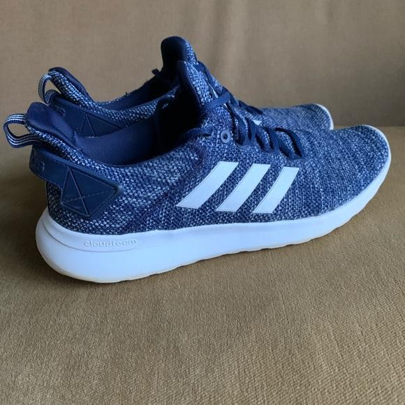 Adidas Men's 9 Cloudfoam athletic shoes blue white
